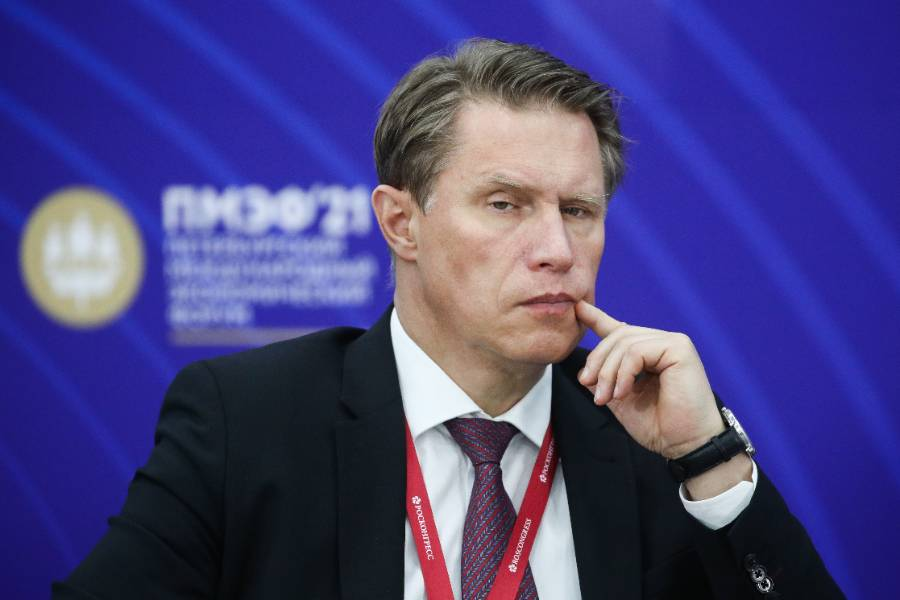 <p>Михаил Мурашко. Фото © ТАСС / Сергей Бобылев</p>