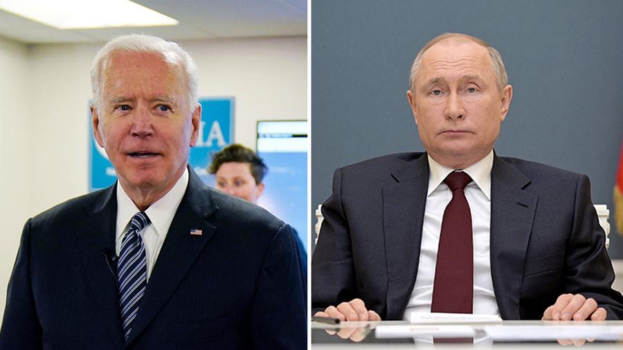 <p>Фото © ТАСС / AP Photo / Evan Vucci, Алексей Дружинин / Пресс-служба Президента РФ</p>