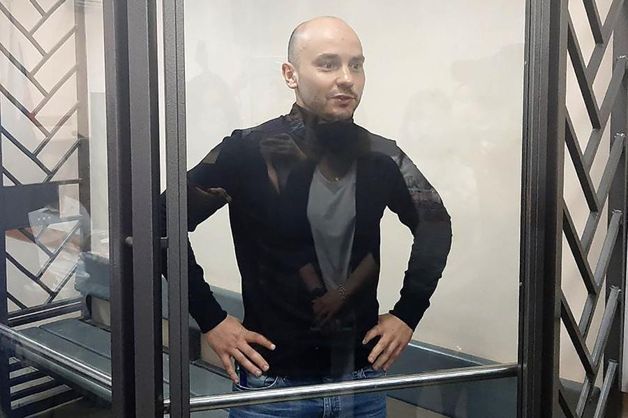 <p>Андрей Пивоваров. Фото © ТАСС / Задворная Алена</p>