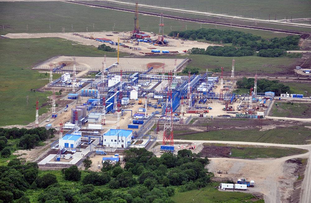 Добыча газа на Камчатке. Нижне-Квакчикское газовое месторождение. Фото © gazprom.ru