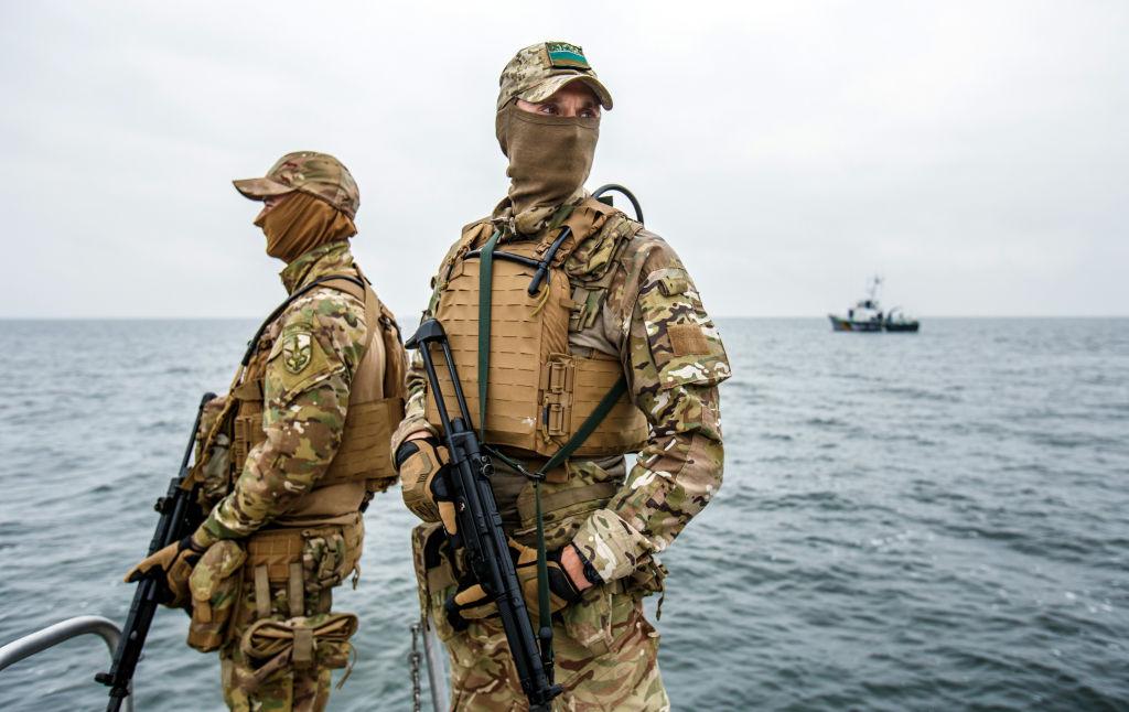 В Чёрном море прошли тактические учения украинских ВМС