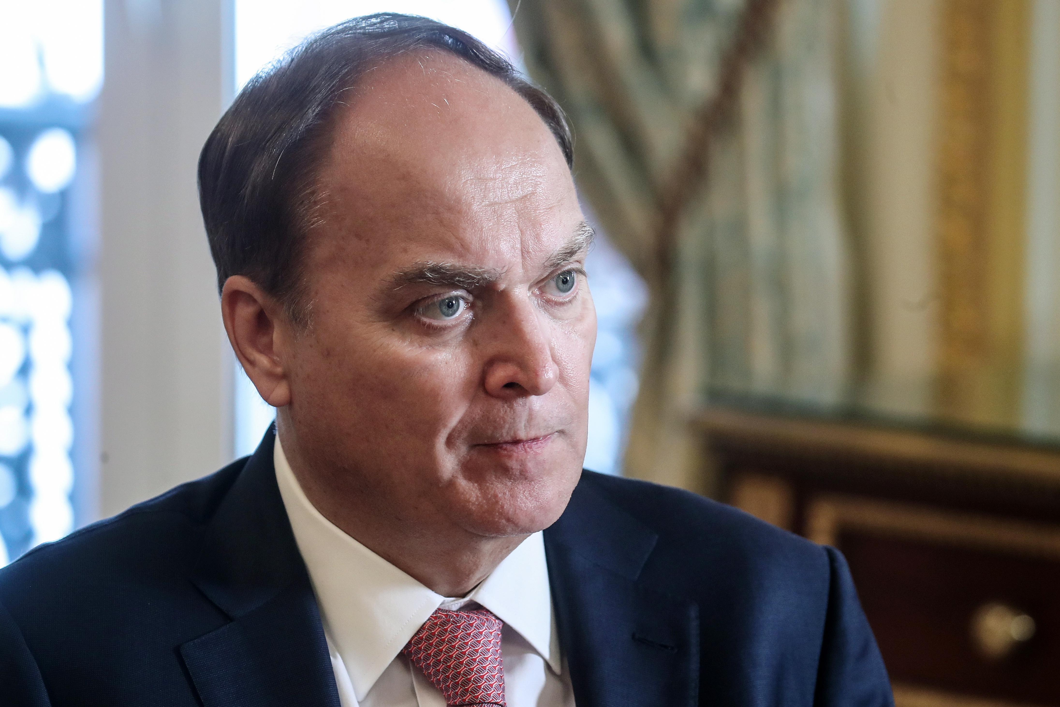 Российский посол Антонов прибыл в США
