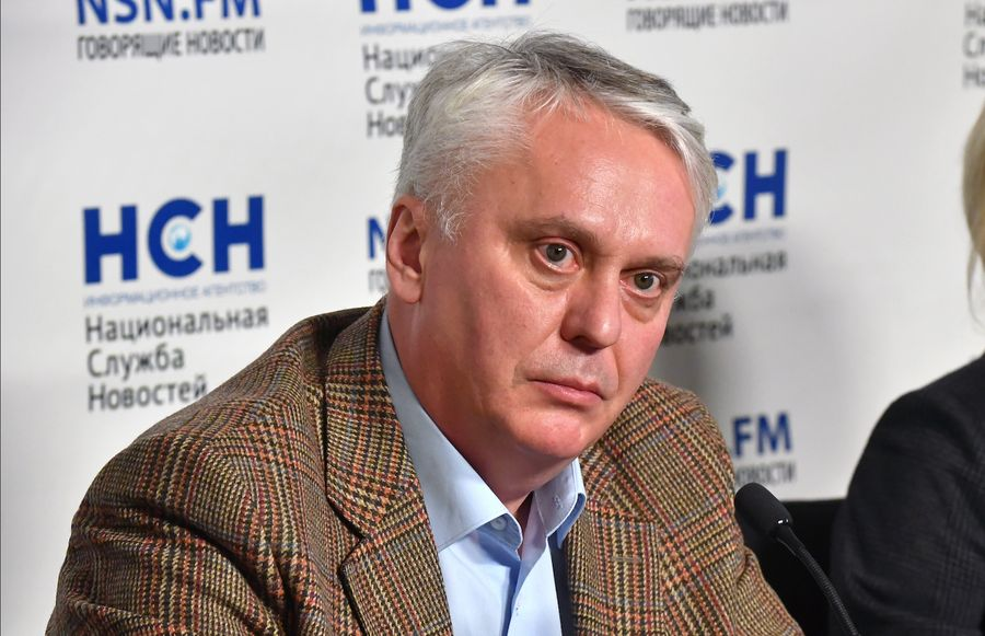 <p>Врач Михаил Каабак. Фото © ТАСС / Максим Григорьев</p>