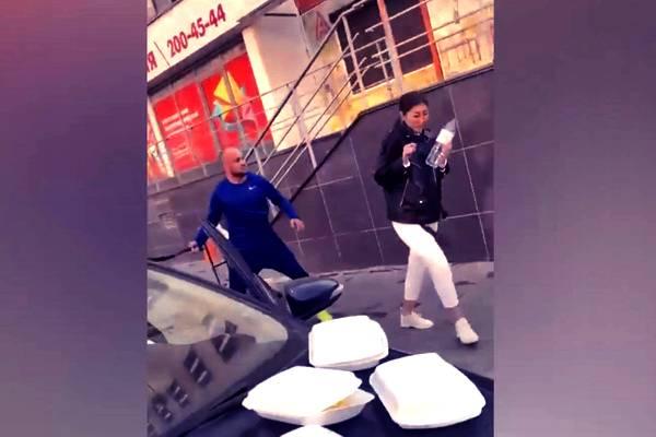<p>Скриншот видео © Соцсети</p>