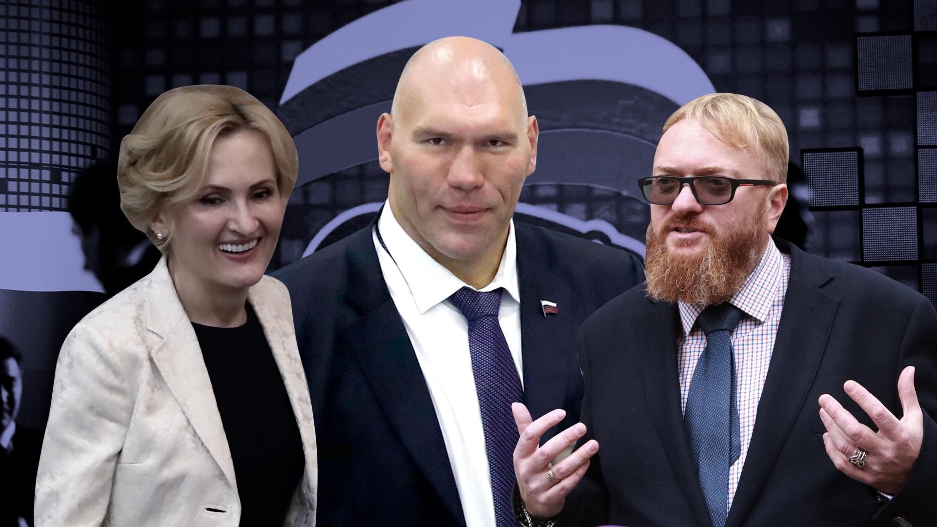Главные звезды от Единой России: Кого отобрали единороссы для думской кампании