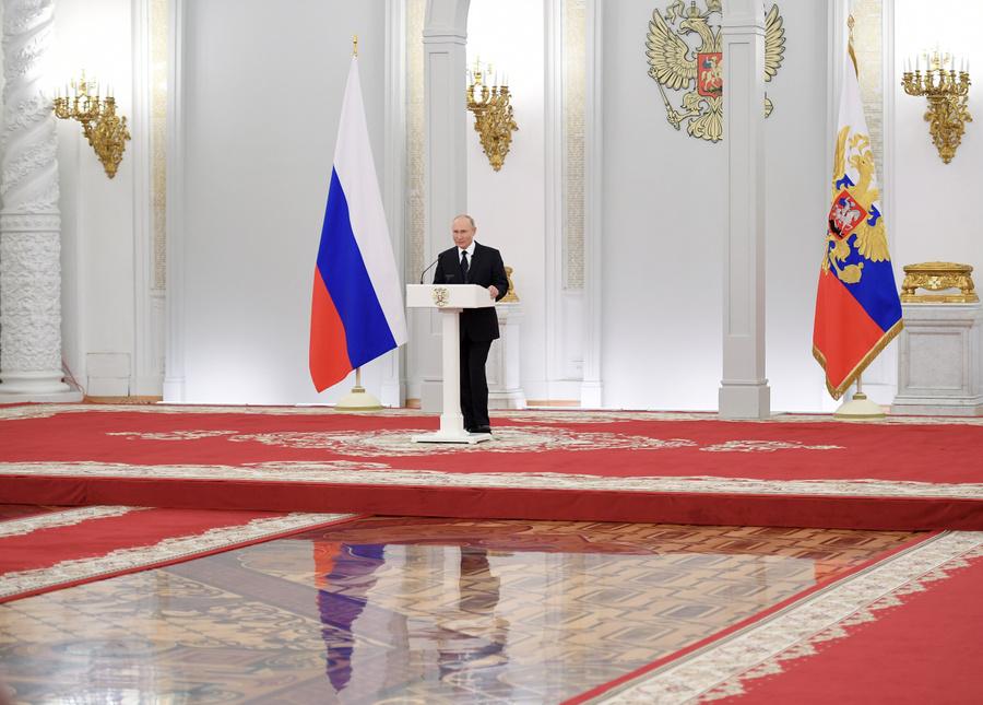 <p>Владимир Путин. Фото © ТАСС / Рамиль Ситдиков</p>