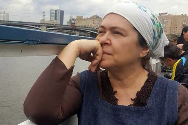Анастасия Рахлина в последние годы жизни. Фото © rockperson.ru
