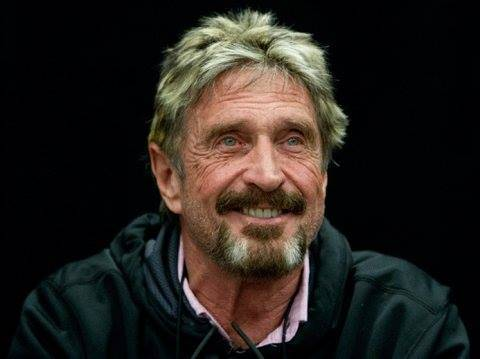 """<p>Джон Макафи. Фото © Facebook / <a href=""""https://www.facebook.com/officialmcafee"""" target=""""_blank"""" rel=""""noopener noreferrer"""">John Mcafee</a></p>"""