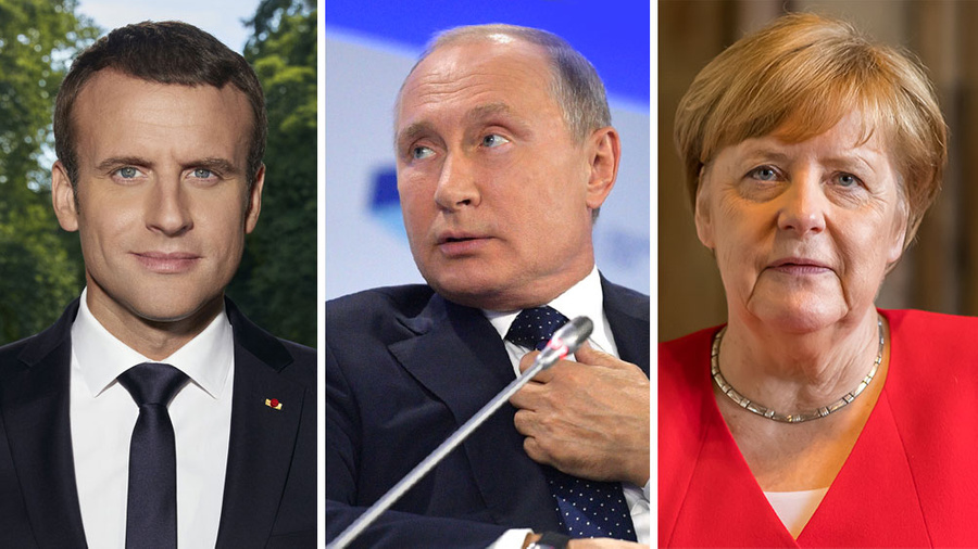 "<p>Фото © <a href=""https://ru.wikipedia.org/wiki/%D0%9C%D0%B0%D0%BA%D1%80%D0%BE%D0%BD,_%D0%AD%D0%BC%D0%BC%D0%B0%D0%BD%D1%8E%D1%8D%D0%BB%D1%8C#/media/%D0%A4%D0%B0%D0%B9%D0%BB:Official_portrait_of_the_French_President_Emmanuel_Macron.jpg"" target=""_blank"" rel=""noopener noreferrer"">Wikipedia</a>, <a href=""https://commons.wikimedia.org/wiki/File:XV_%D0%B7%D0%B0%D1%81%D0%B5%D0%B4%D0%B0%D0%BD%D0%B8%D0%B5_%D0%9C%D0%B5%D0%B6%D0%B4%D1%83%D0%BD%D0%B0%D1%80%D0%BE%D0%B4%D0%BD%D0%BE%D0%B3%D0%BE_%D0%B4%D0%B8%D1%81%D0%BA%D1%83%D1%81%D1%81%D0%B8%D0%BE%D0%BD%D0%BD%D0%BE%D0%B3%D0%BE_%D0%BA%D0%BB%D1%83%D0%B1%D0%B0_%C2%AB%D0%92%D0%B0%D0%BB%D0%B4%D0%B0%D0%B9%C2%BB._%D0%92%D0%BB%D0%B0%D0%B4%D0%B8%D0%BC%D0%B8%D1%80_%D0%9F%D1%83%D1%82%D0%B8%D0%BD.jpg"" target=""_blank"" rel=""noopener noreferrer"">Wikipedia</a>, <a href=""https://commons.wikimedia.org/wiki/File:Angela_Merkel_2019_cropped.jpg"" target=""_blank"" rel=""noopener noreferrer"">Wikipedia</a></p>"