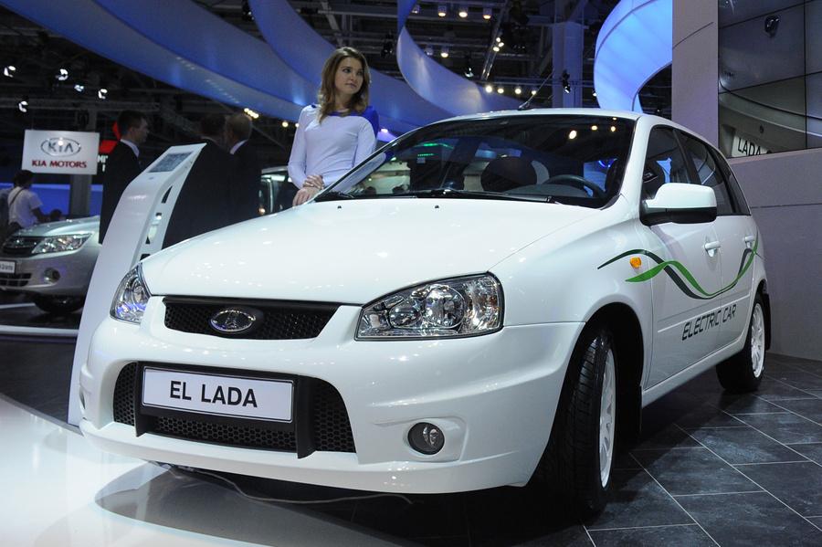 <p>Lada Ellada. Фото © ИТАР-ТАСС / Валерий Шарифулин</p>
