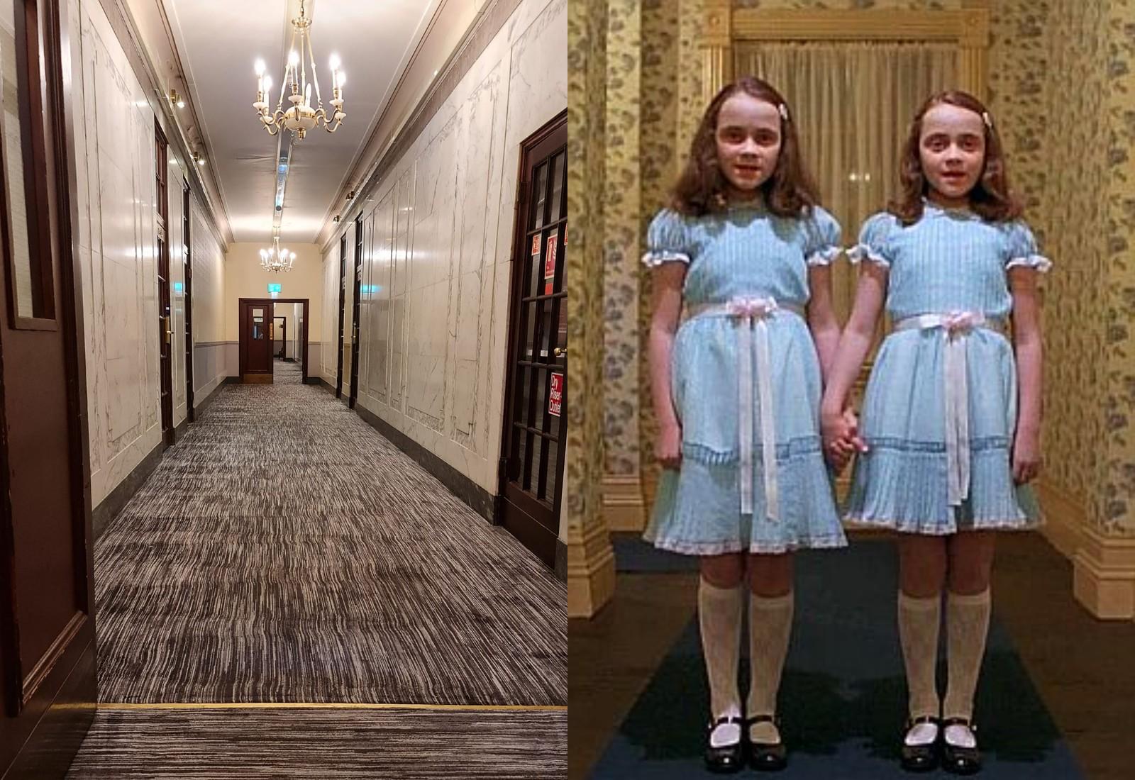 "Фото © Facebook / Project reveal — Ghosts of Britain. Кадр из фильма ""Сияние"""