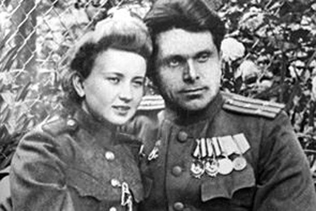 Николай Щёлоков со своей женой Светланой (фото из семейного архива). Фото © russian7.ru