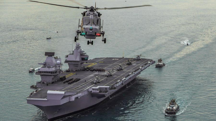 "<p>Авианосец Queen Elizabeth. Фото © <a href=""https://www.royalnavy.mod.uk/"" target=""_blank"" rel=""noopener noreferrer"">The Royal Navy</a></p>"