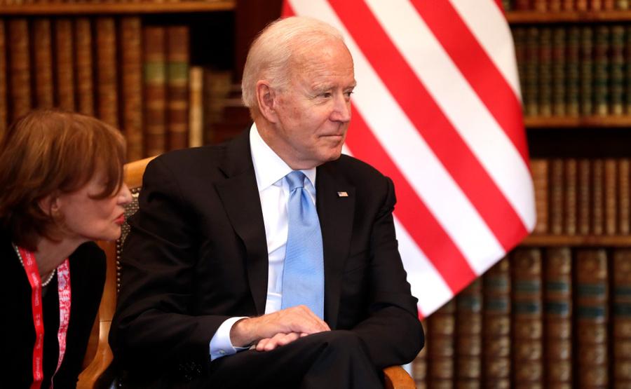 <p>Джо Байден. Фото © Пресс-служба Президента РФ</p>