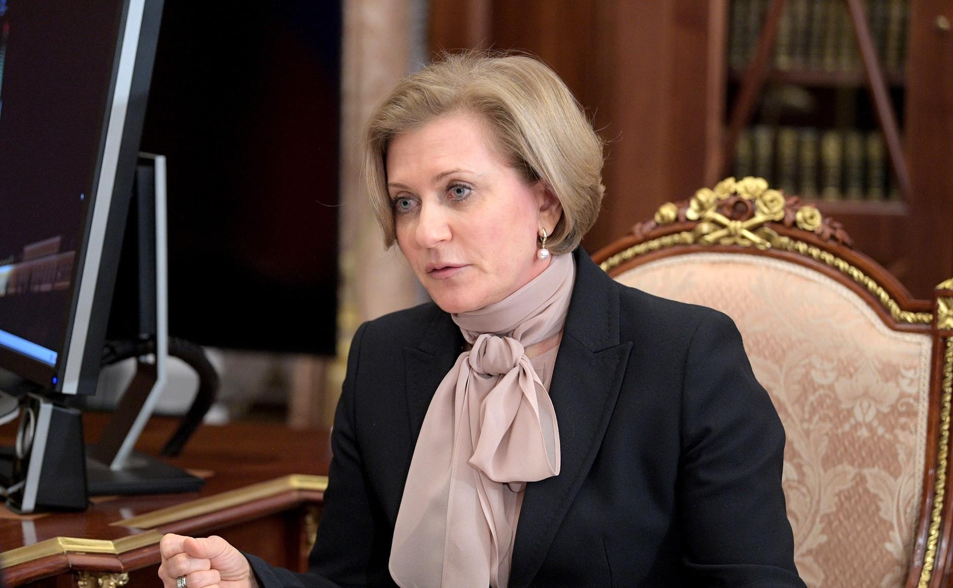 Попова: Заболеваемость ковидом растёт во всех регионах России