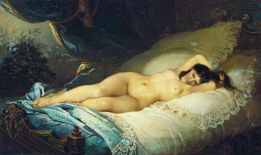 """""""Нагая женщина""""— Государственный Русский музей. Фото © Wikipedia"""