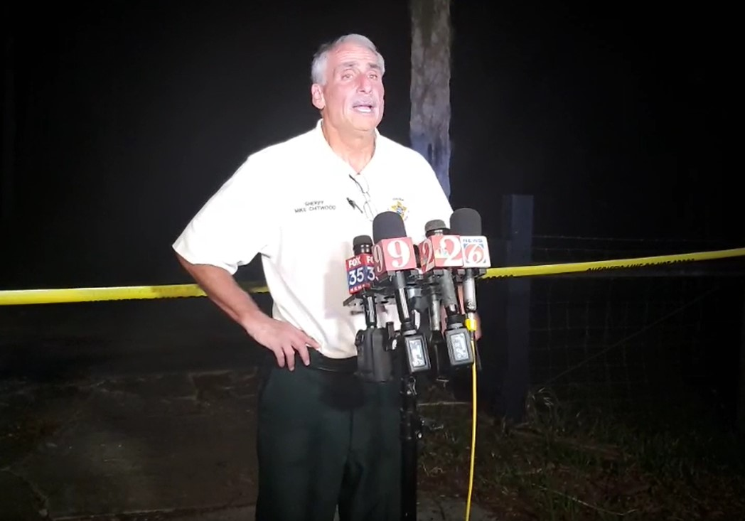 Шериф Майк Читвуд. Фото © Facebook / Volusia Sheriff's Office