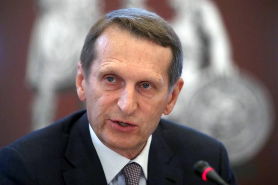 <p>Сергей Нарышкин. Фото © ТАСС / Александр Демьянчук</p>