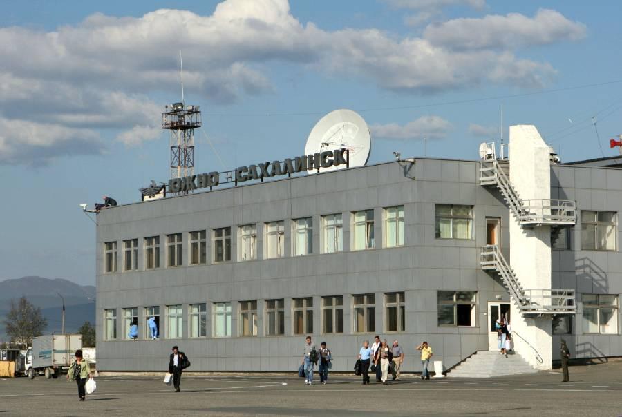 <p>Аэропорт Южно-Сахалинска. Фото © ТАСС / Марина Лысцева</p>
