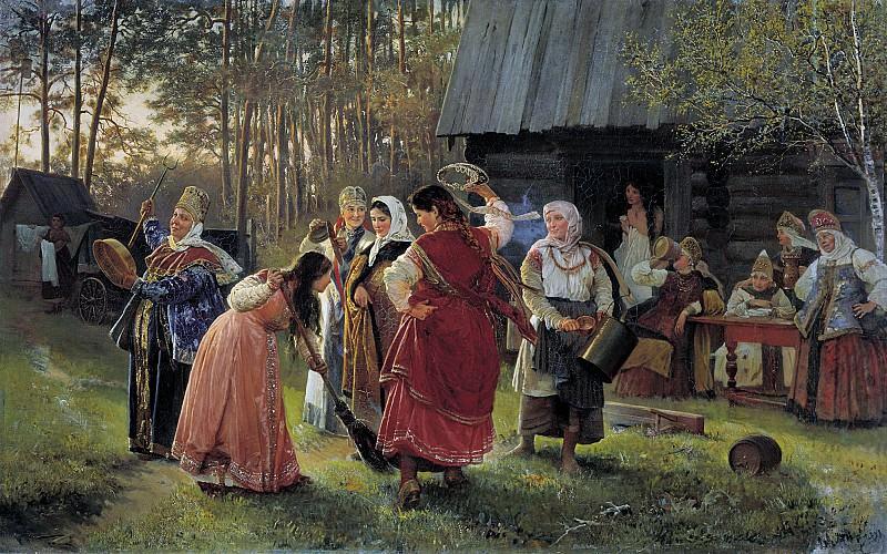 "Алексей Корзухин ""Девичник"", 1889 © gallerix.ru"