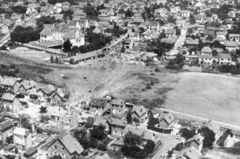 Место катастрофы. Фото © Wikipedia