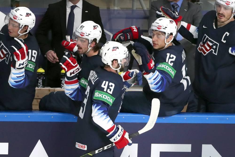 США и Германия стали первыми полуфиналистами ЧМ по хоккею