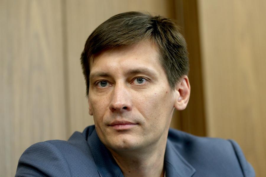 <p>Дмитрий Гудков. Фото © ТАСС / Гавриил Григоров</p>