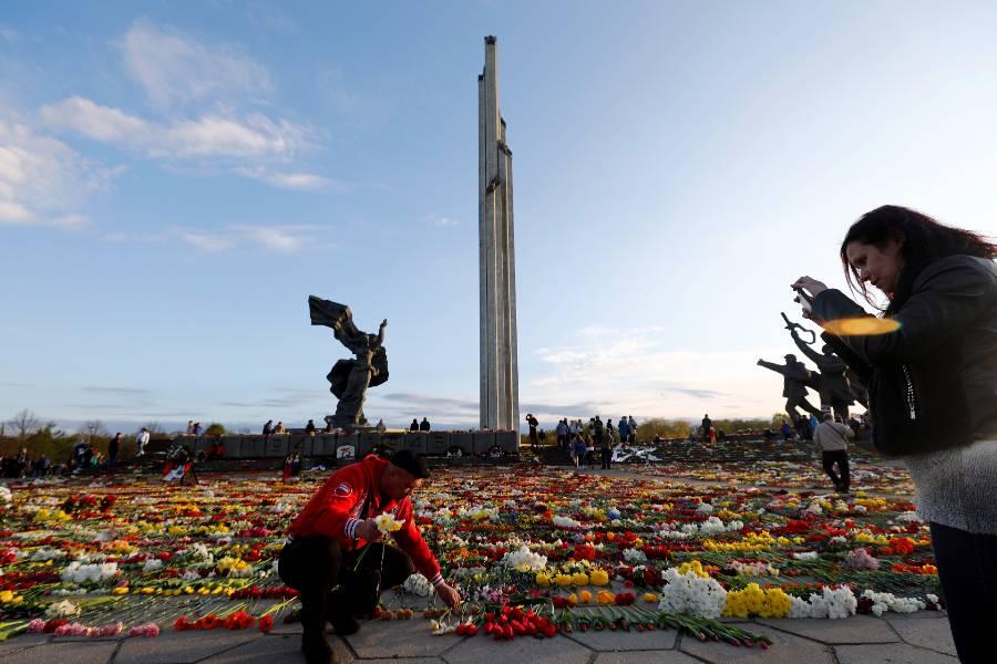 <p>Памятник освободителям Риги. Фото © ТАСС / EPA</p>