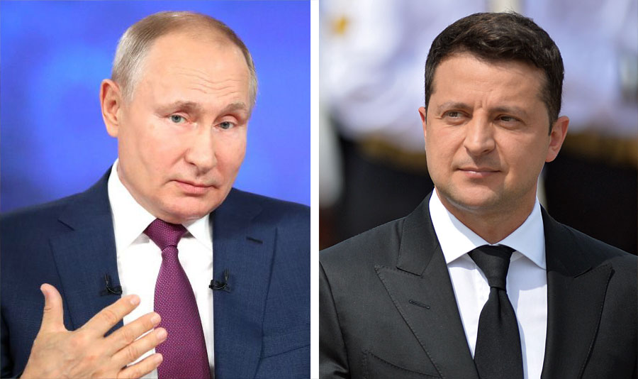 В Киеве ответили на слова Путина о встрече с Зеленским