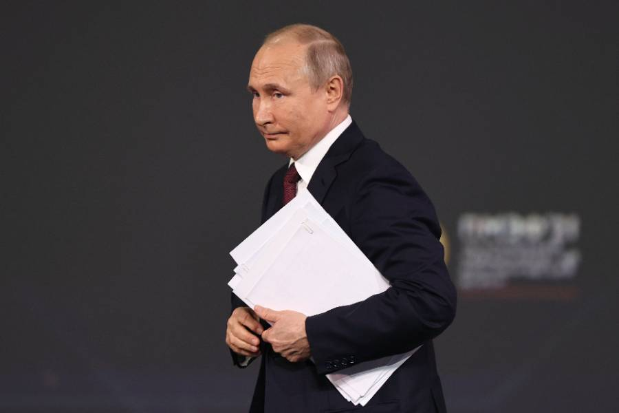 Некоторые обвинения напоминают словесное несварение желудка: Путин заявил, что не переживает из-за скандальных заявлений Байдена в свой адрес