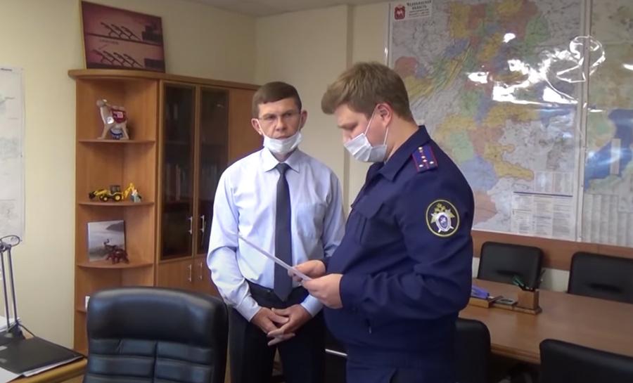 Задержание Ивана Белавкина. Кадр из видео © YouTube / Ирина Крючкова