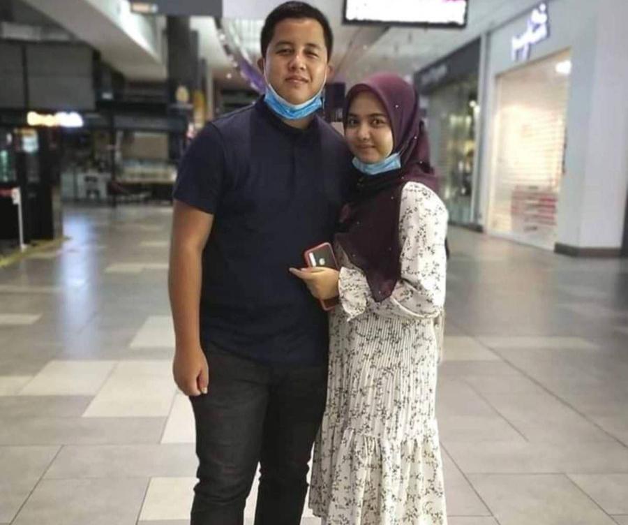 Сити и её муж. Фото © Harian Metro