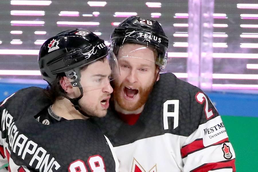Нападающий сборной Канады Манджапане признан самым ценным игроком ЧМ по хоккею