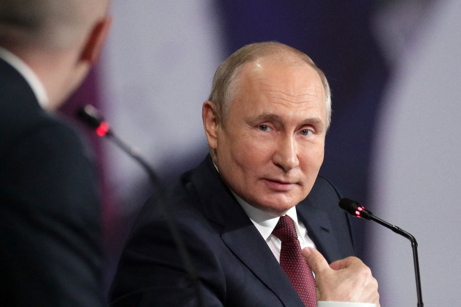 <p>Владимир Путин. Фото © ТАСС / Владимир Смирнов</p>