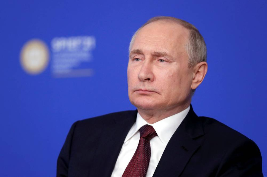 <p>Владимир Путин. Фото © ТАСС / Михаил Метцель</p>