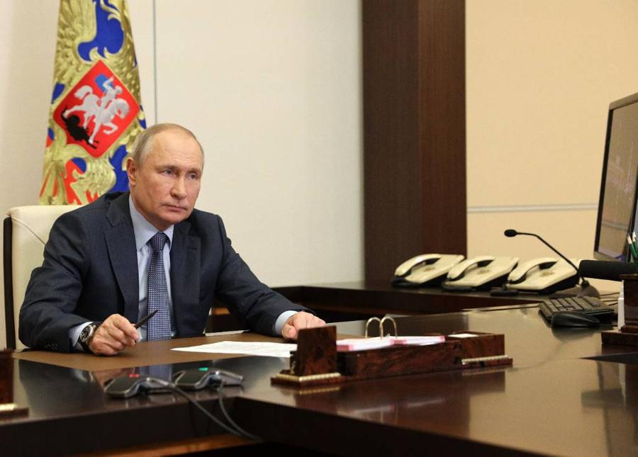 <p>Владимир Путин. Фото © ТАСС / Сергей Ильин / Пресс-служба Президента РФ</p>