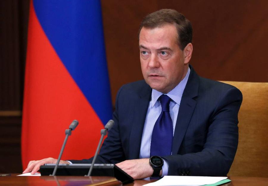<p>Дмитрий Медведев. Фото © ТАСС / Юлия Зырянова / POOL</p>