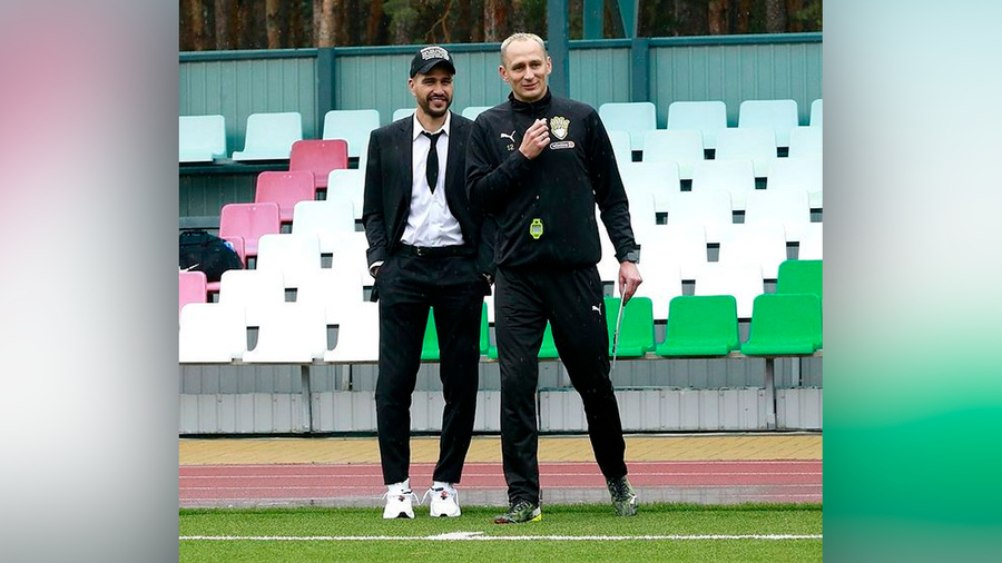 <p>Евгений Савин (слева) и Сергей Рыжиков. Фото © Instagram / ryzhikovsergey</p>