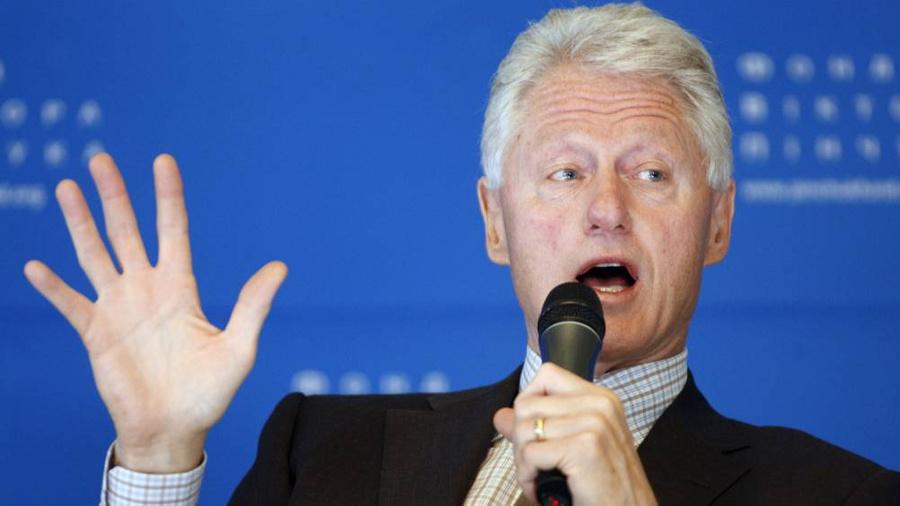 <p>Билл Клинтон. Фото © ТАСС / Владимир Синдеев</p>