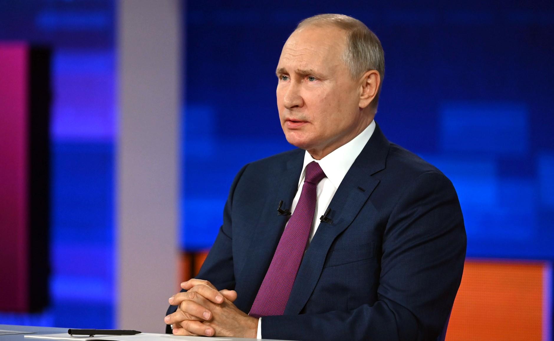 Путина возмутили попытки изменить язык ради людей, не определившихся с полом