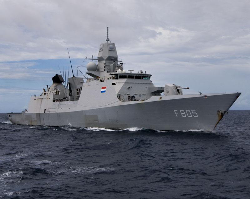 495225662698.9975 Захарова назвала сознательной провокацией маневрирование фрегата Нидерландов в Чёрном море