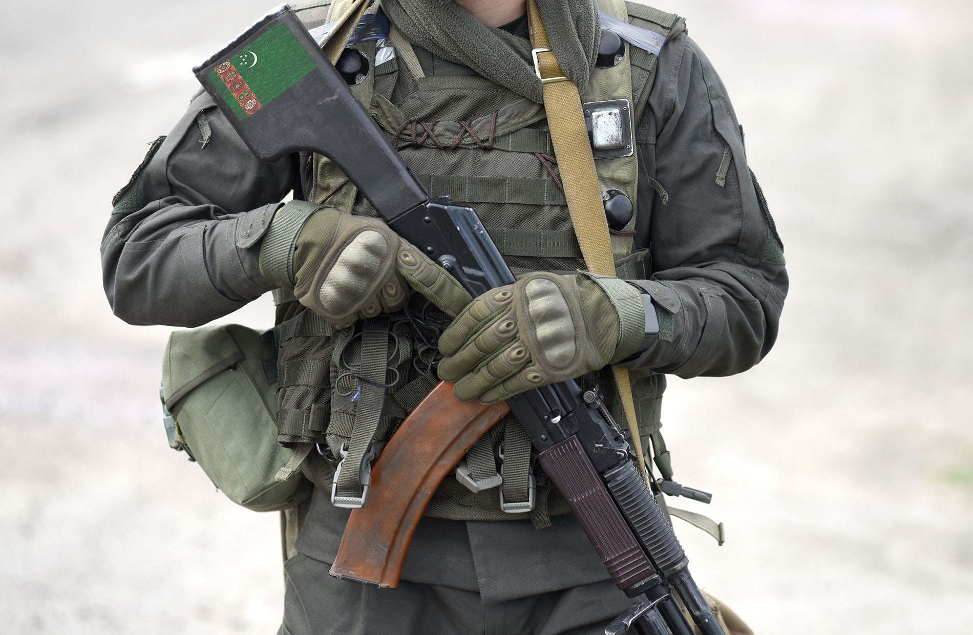 СМИ: Туркмения стянула войска и тяжёлую военную технику к границе с Афганистаном