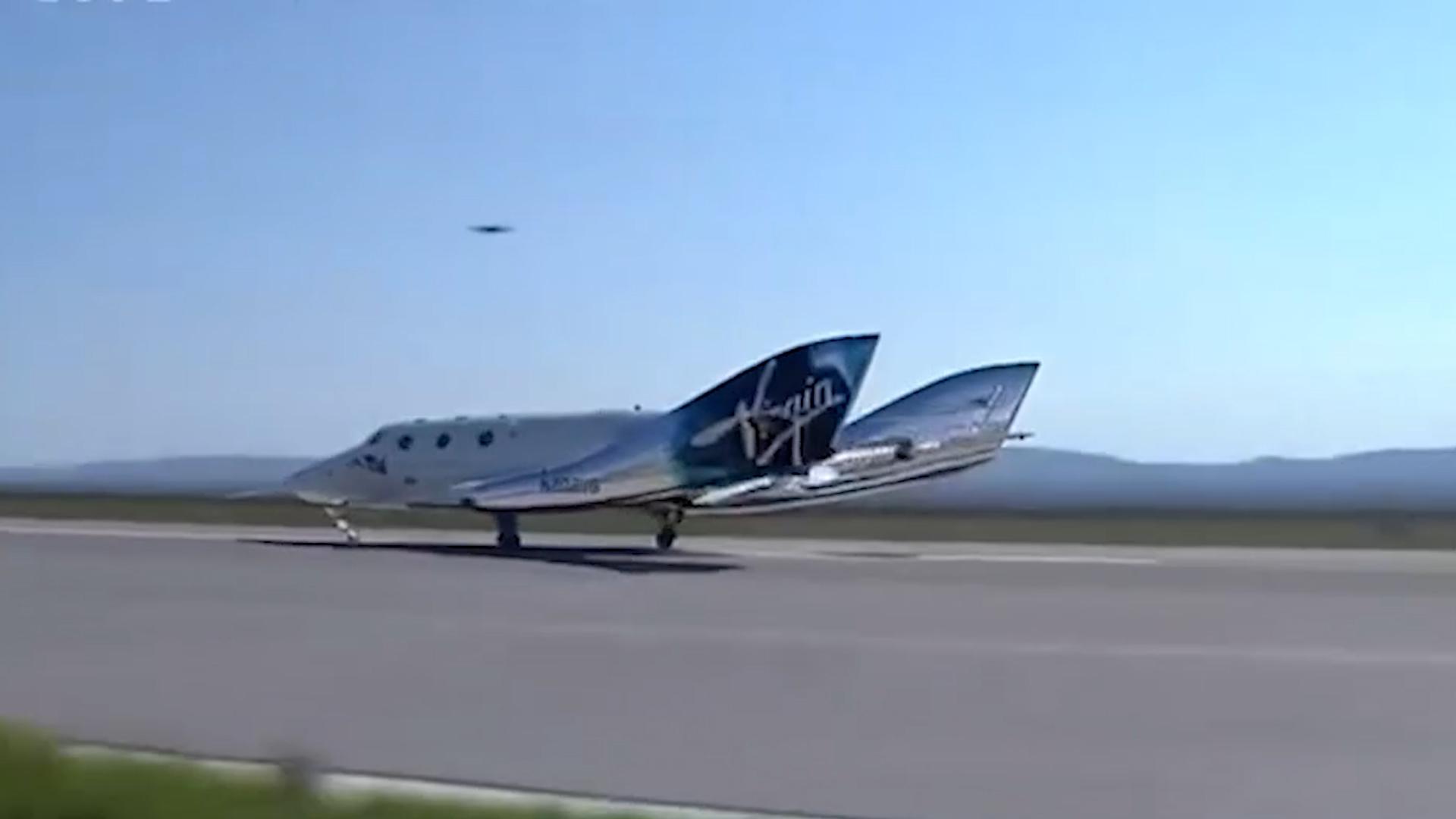 Эксперт объяснил, почему полёт миллиардера Брэнсона нельзя считать космическим