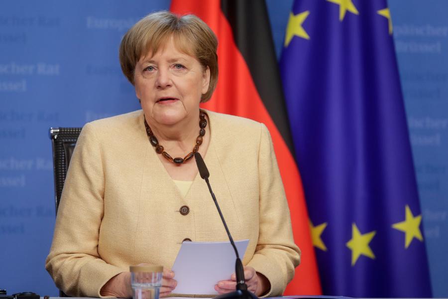 <p>Ангела Меркель. Фото © ТАСС / EPA</p>