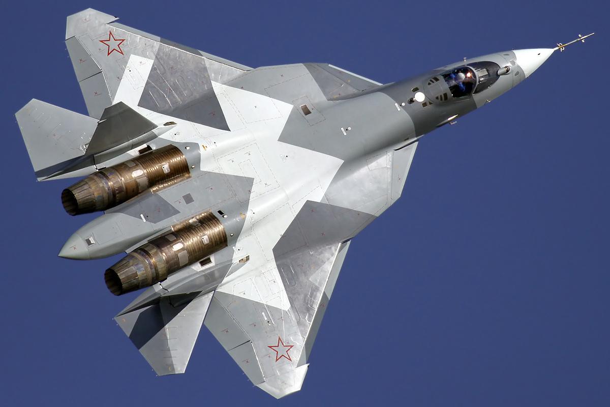 Су-57. Фото © Wikipedia