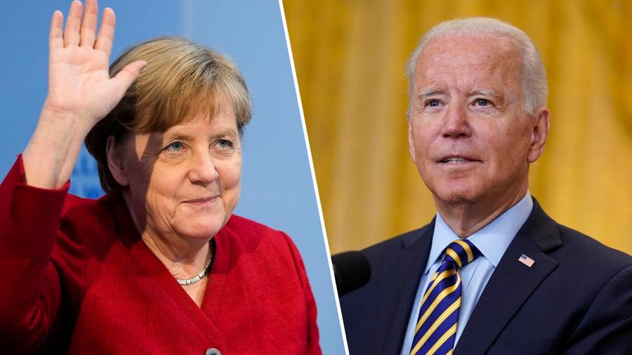 <p>Ангела Меркель и Джо Байден. Коллаж © LIFE. Фото © ТАСС / DPA, AP</p>