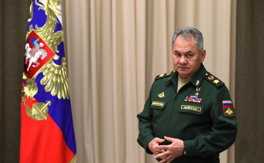 "<p>Сергей Шойгу. Фото © <a href=""http://www.kremlin.ru/events/president/news/62175/photos/62341"" target=""_blank"" rel=""noopener noreferrer"">Kremlin.ru </a></p>"