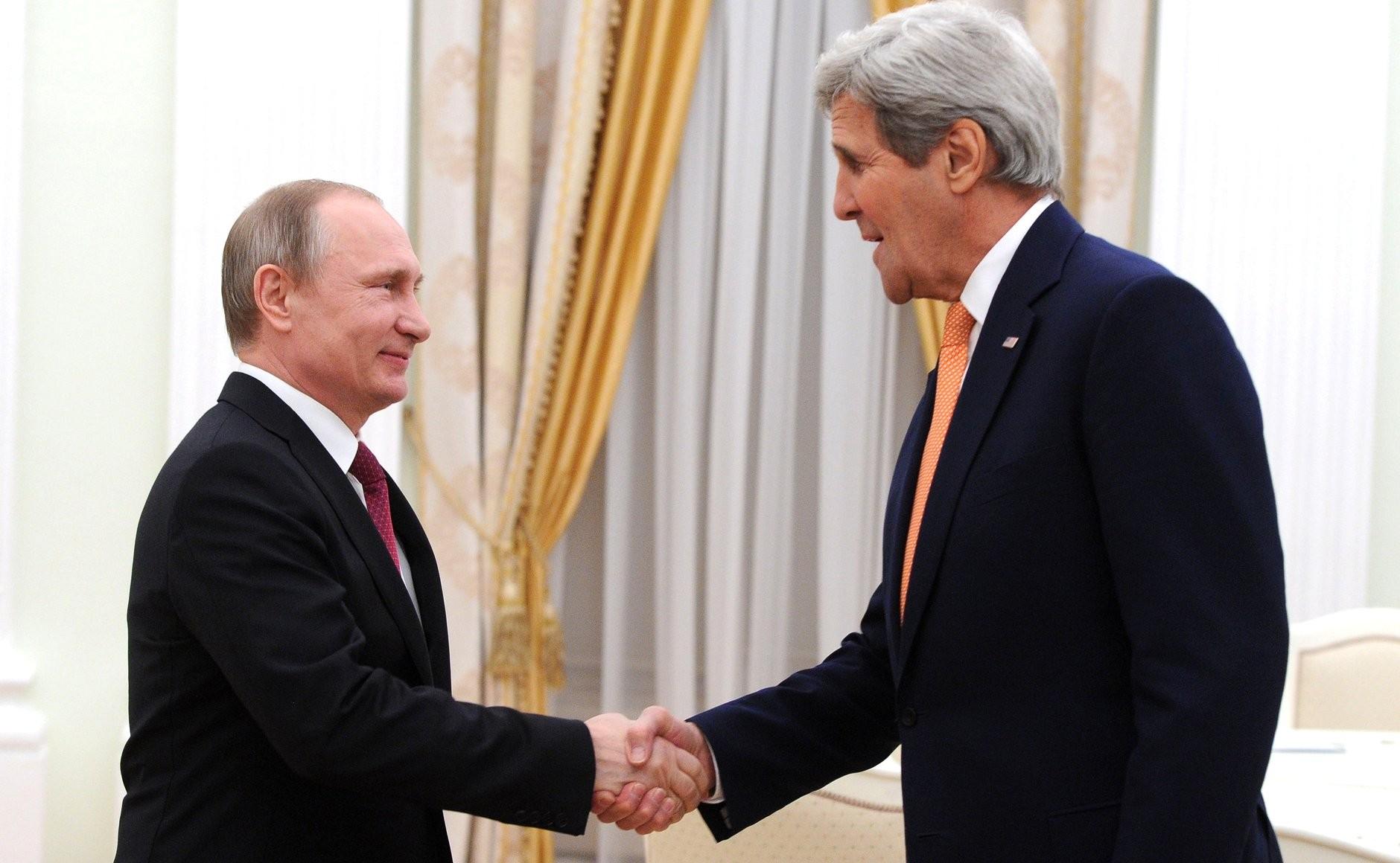 В Госдепе раскрыли содержание разговора Путина и Керри по вопросам климата