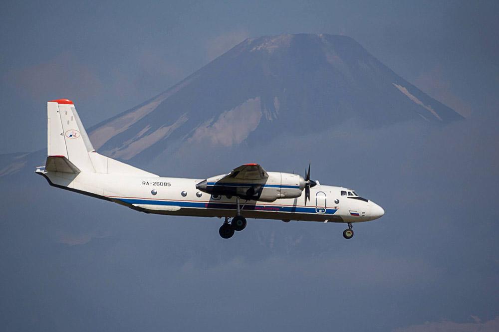 Пассажирский самолёт Ан-26, пропавший на Камчатке. Фото из архива. Фото © ТАСС / Суров Александр