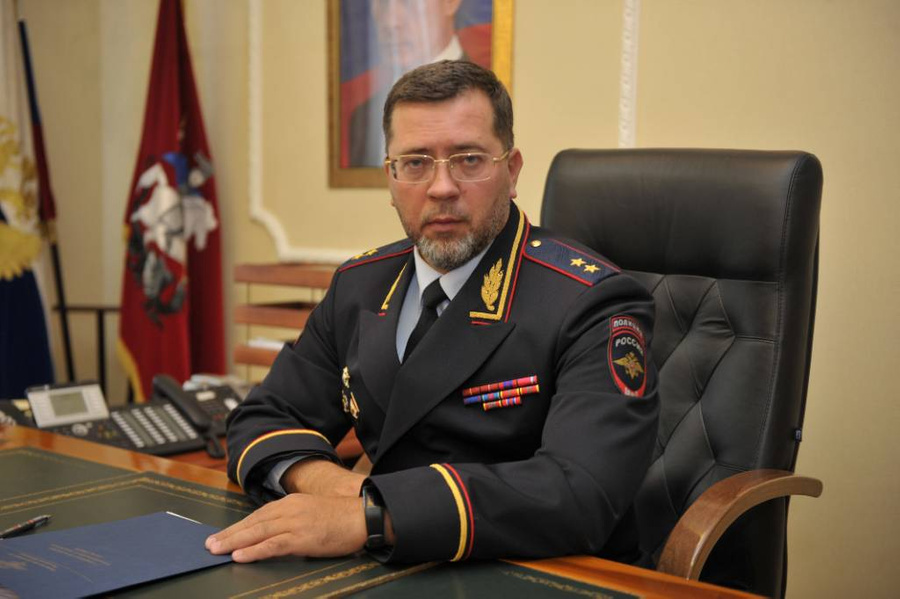 <p>Андрей Храпов. Фото © Официальный сайт МВД России</p>